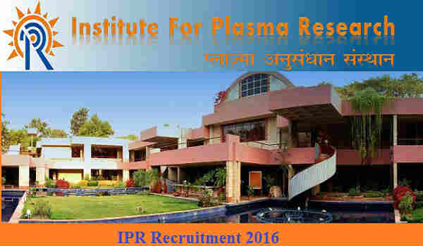 IPR Recruitment 2016