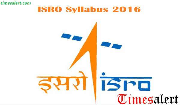 ISAC Syllabus 2016