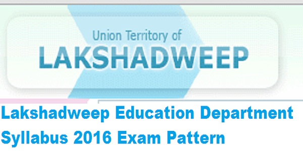 Lakshadweep-Education-Department-Syllabus-2016