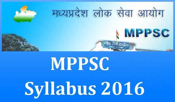 MPPSC-Syllabus-2016