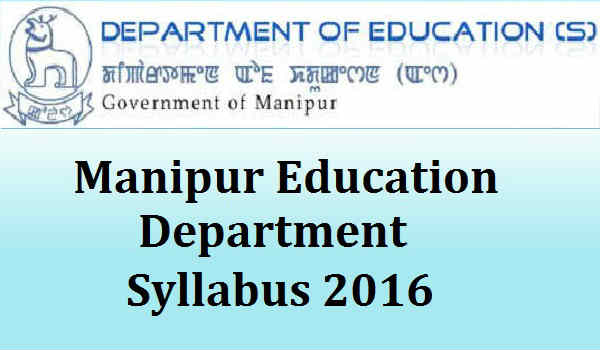 Manipur-Education-Department-Syllabus-2016