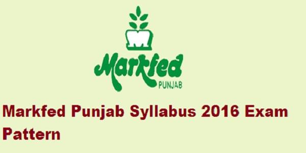 Markfed-Punjab-Syllabus-2016