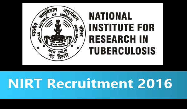 NIRT-Recruitment-2016