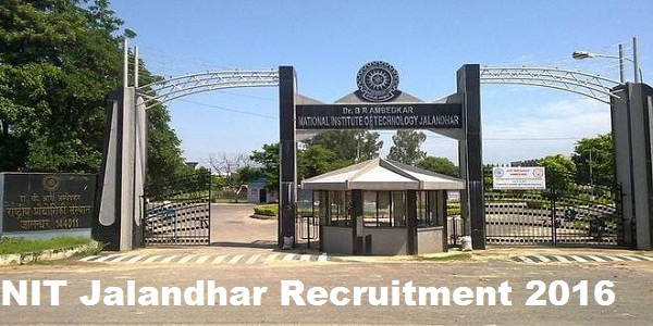 NIT-Jalandhar-Recruitment-2016