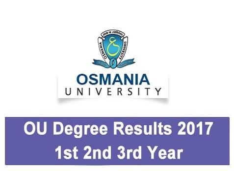 OU Degree Results 2017