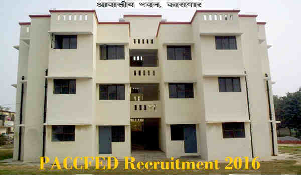 PACCFED Recruitment 2016