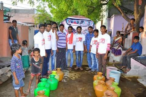 Pawan Kalyan Fans Free Water Supply