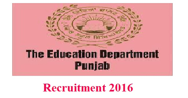 Punjab Medical Education Recruitment 2016