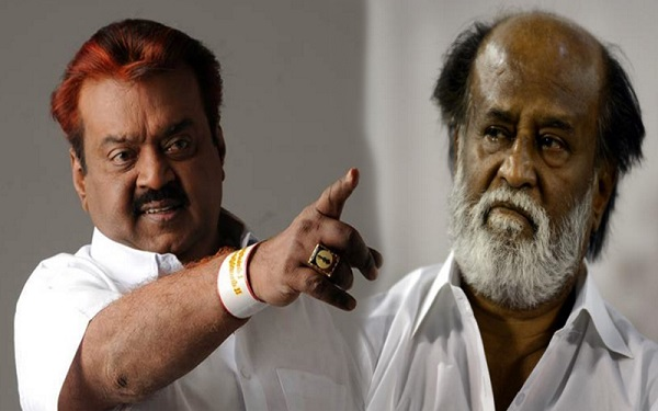 Rajinikanth Vijayakanth Tamil Nadu Elections 2016
