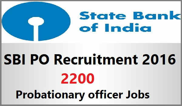 SBI-PO-Recruitment-2016