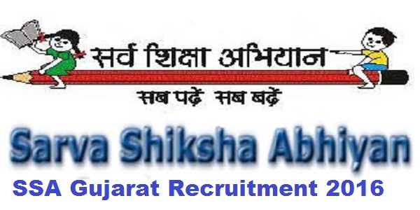 SSA-Gujarat-Recruitment-2016