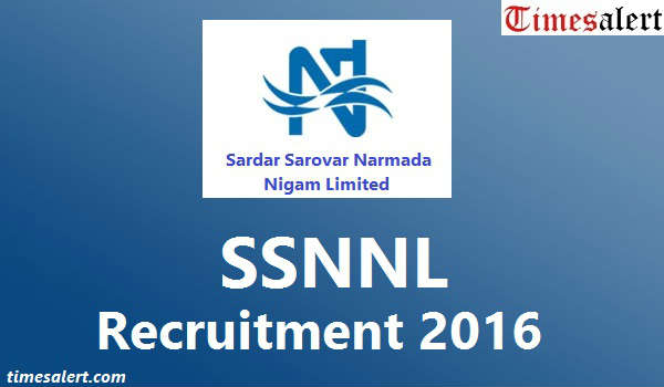 SSNNL Recruitment 2016