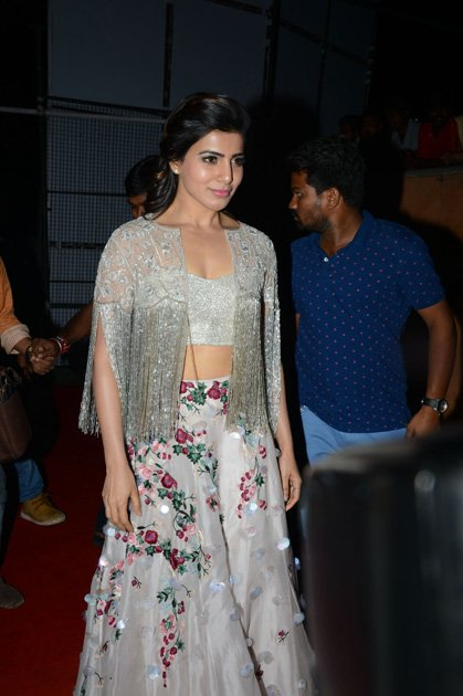 Samantha at A Aa Movie Audio Launch  (7)