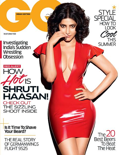 Shruti Haasan GQ Magazine May 2016 Cover