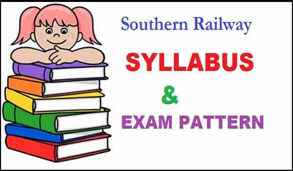 Southern Railway Syllabus 2016