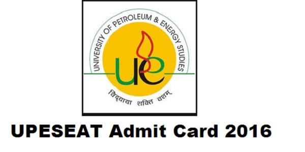 UPESEAT-Admit-Card-2016
