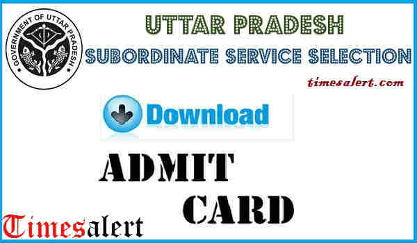 UPSSSC VDO Admit card 2016