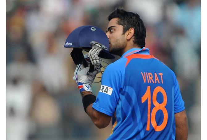 Virat Kohli Jersey Number 18