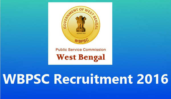 WBPSC-Recruitment-2016