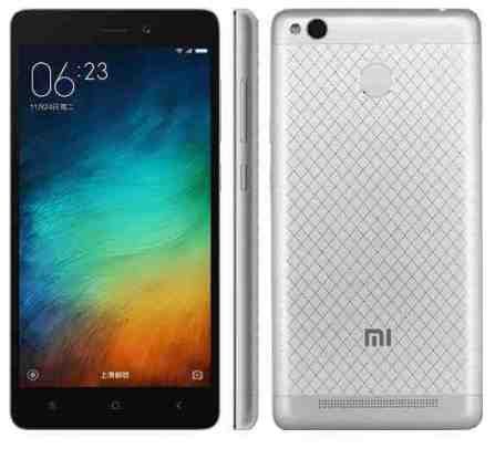 Xiaomi Redmi 3A features