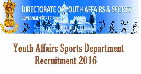 YAS Tripura Recruitment 2016