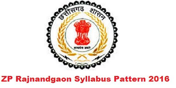 ZP-Rajnandgaon-Syllabus-2016