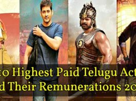 Highest Paid Actors in Tollywood