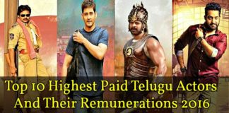 remuneration of Tollywood Actors