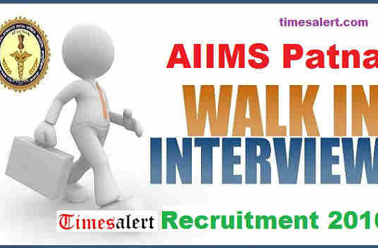 AIIMS Patna Recruitment 2016