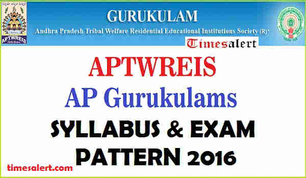 APTWREIS Gurukulam Syllabus 2016