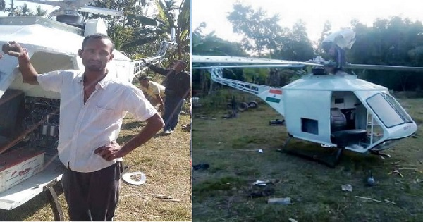 Assam Welder Builds His Own Helicopter