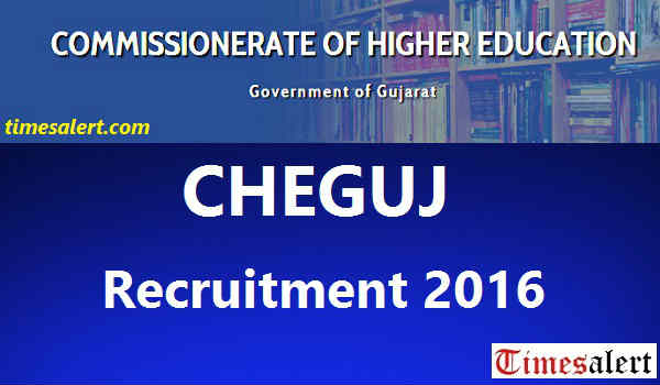 CHEGUJ Recruitment 2016