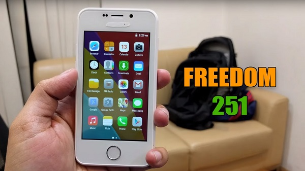 Freedom251 Smartphone Delivery
