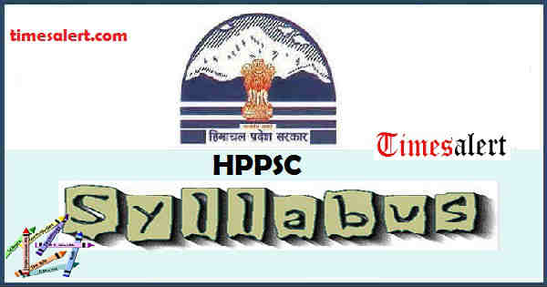 HPPSC Syllabus 2016