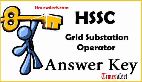 HSSC GSO Answer Key 2016