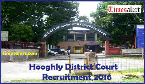 Hooghly District Court Recruitment 2016