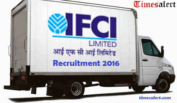 IFCI Ltd Recruitment 2016