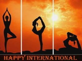 International Yoga Day Greetings
