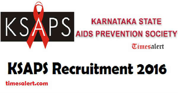KSAPS Recruitment 2016