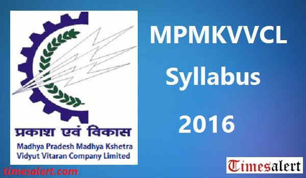 MPMKVVCL Syllabus 2016