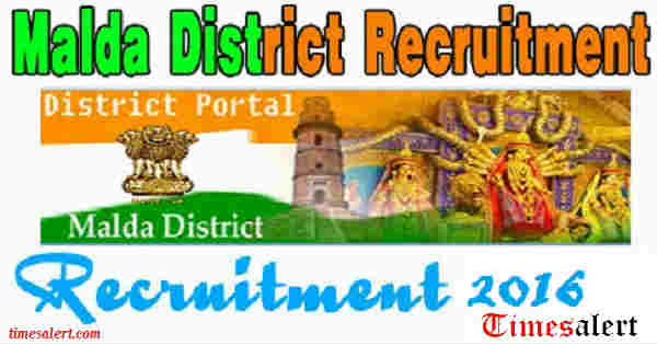 Malda District Recruitment 2016