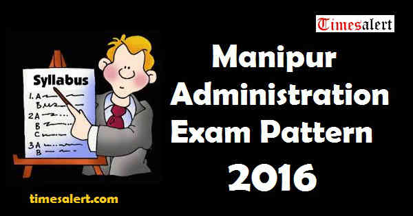 Manipur Administration Syllabus 2016