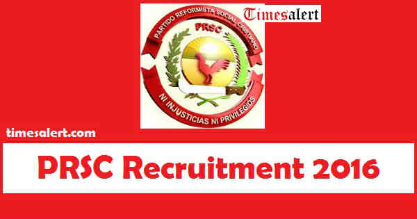 PRSC Recruitment 2016