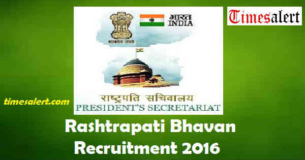 President Secretariat Recruitment 2016
