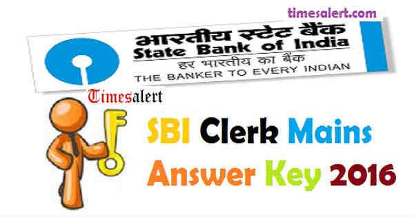 SBI Clerk Mains Answer Key 206