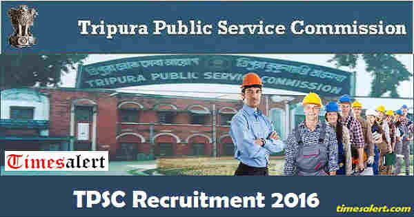 TPSC Recruitment 2016