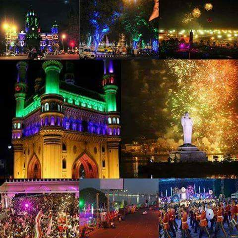 Telangana Formation day Celebrations 2017 pics