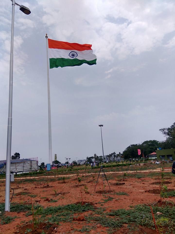 Telangana National Flag Photos