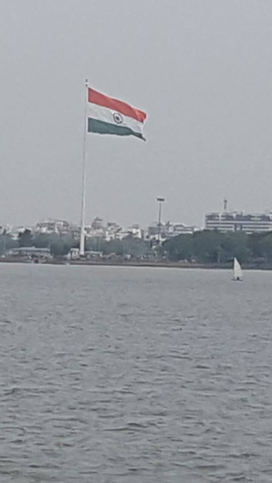 Telangana Tallest National Flag Photo