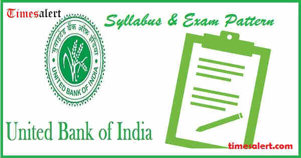United Bank of India Syllabus 2016